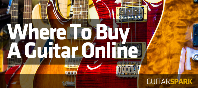 best stores to buy an electric or acoustic guitar on the internet